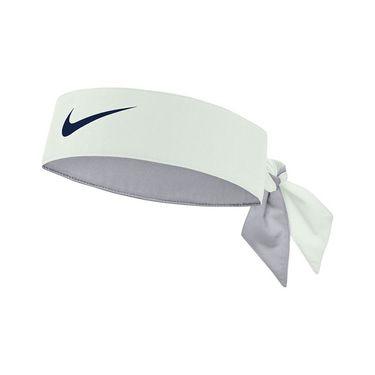 Nike Tennis Graphic Headband - Barely Green/Thunder Blue