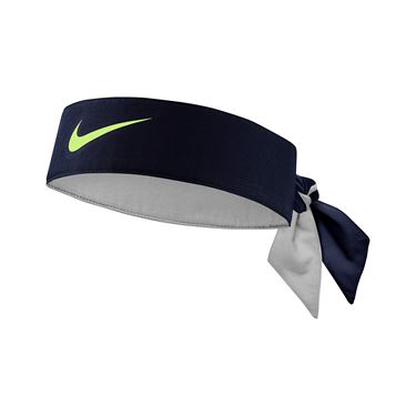 Nike Tennis Headband - Obsidian/Lime Glow