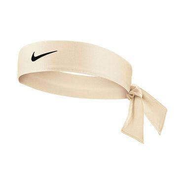 Nike Tennis Womens Headband - Coconut Milk/Black