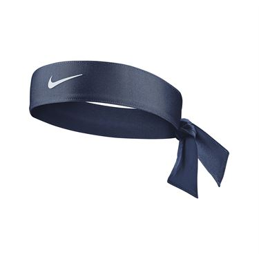 Nike Tennis Womens Headband - Obsidian/White