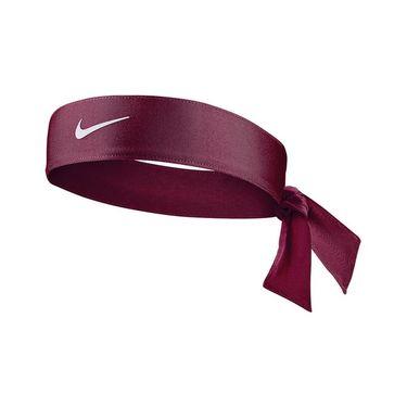 Nike Tennis Womens Headband - Dark Beetroot White