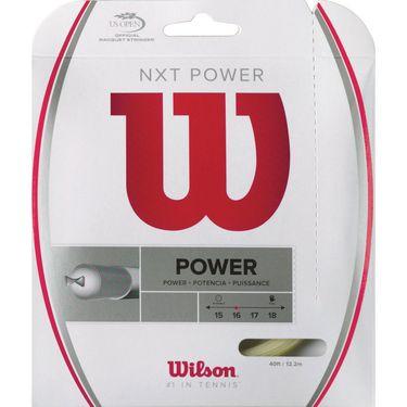 Wilson NXT Power 16G Tennis String