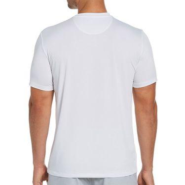 Penguin Trademark Tennis Graphic Performance Tee Mens Bright White OGKSB0N9 118