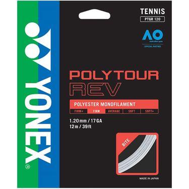 Yonex Poly Tour Rev 120 17G Tennis String - White