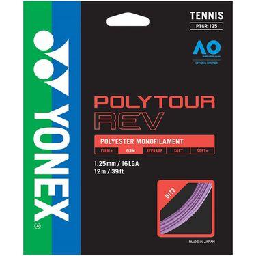 Yonex Poly Tour Rev 125 16L Tennis String - Purple