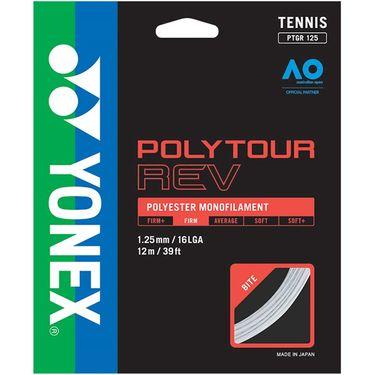 Yonex Poly Tour Rev 125 16L Tennis String - White