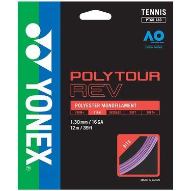 Yonex Poly Tour Rev 130 16G Tennis String - Purple