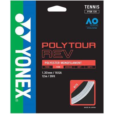 Yonex Poly Tour Rev 130 16G Tennis String - White