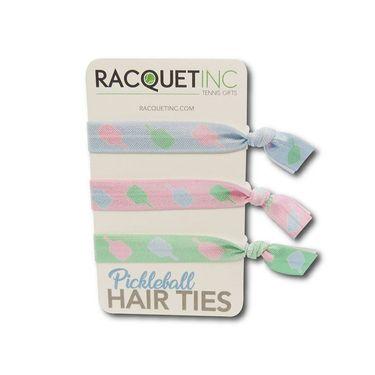 Racquet Inc Tennis/Pickleball Hair Tie - Red/White/Green