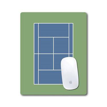 Racquet Inc Tennis Mouse Pad - Navy/Green/Blue