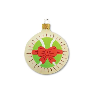 Racquet Inc Christmas Ornament - Red Bow