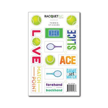 Racquet Inc Tennis Stickers - Green