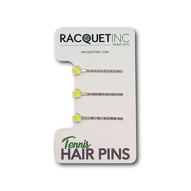Racquet Inc Tennis Hair Pins - Yellow