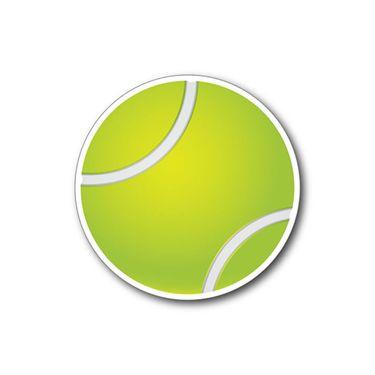 Racquet Inc Tennis Ball Magnet - Green/White