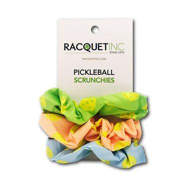 Racquet Inc Pickleball Scrunchies - Pink/Blue/Green