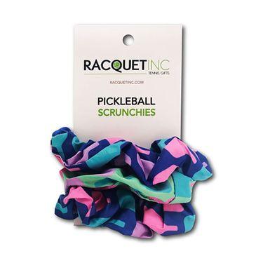 Racquet Inc Pickleball Scrunchies - Purple/Green