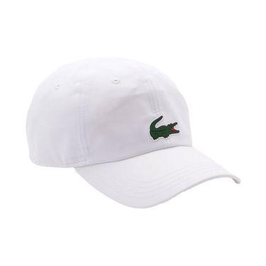 Lacoste SPORT x Novak Djokovic Microfiber Hat - White
