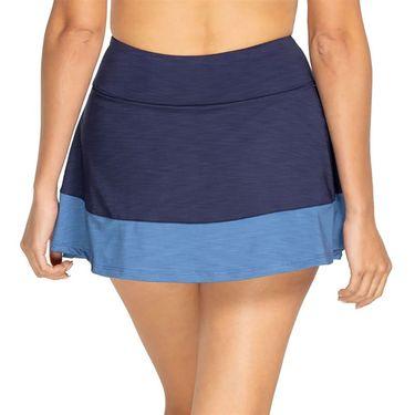 Eleven Rib Border Flutter 13 inch Skirt Womens Blue Nights RM5166 405