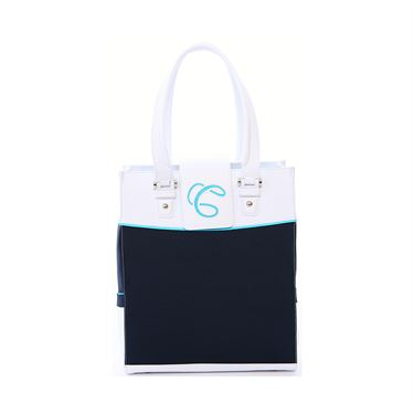 Cortiglia Rendezvous Tennis Bag Navy/White
