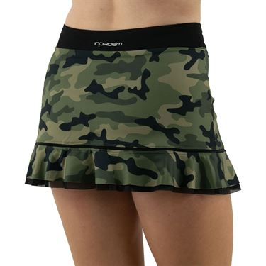 Inphorm Militaire Bridget Skirt Womens Camo/Black S18024 0236