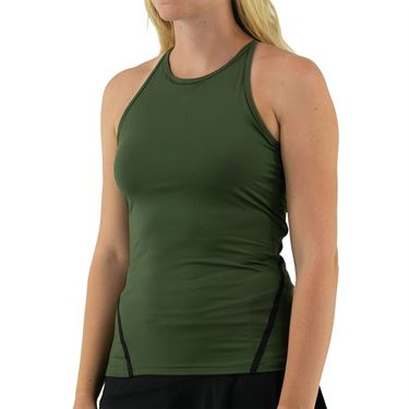 Inphorm Militaire Spin Tank Womens Militaire/Black S21004 0235