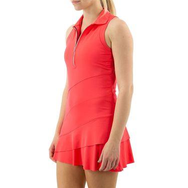 Inphorm Vibrant Mod Angelika Dress Womens Vibrant Red S21036 0209û