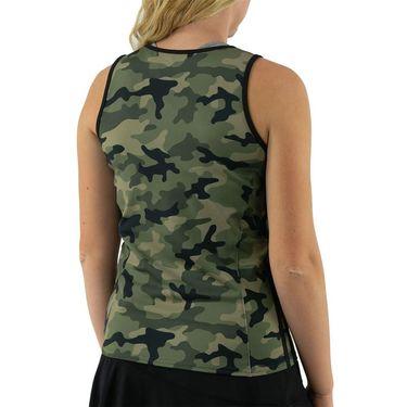 Inphorm Militaire Faith Tank Womens Camo/Black S21039 0236