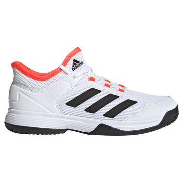 adidas Ubersonic 4 Junior Tennis Shoe White/Core Black/Solar Red S23742