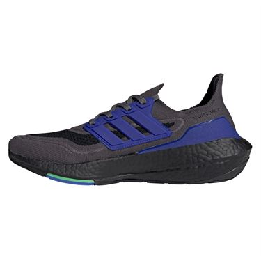adidas Ultraboost 21 Mens Running Shoe Grey Five/Core Black/Screaming Green S23871