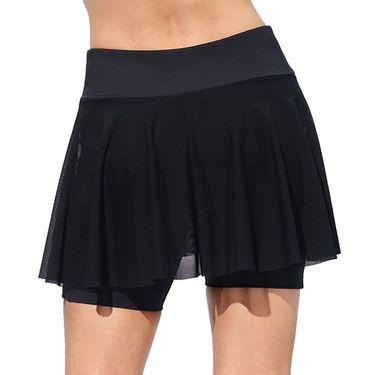 Eleven Essentials Outskirt Shortie Womens True Black SH168 001
