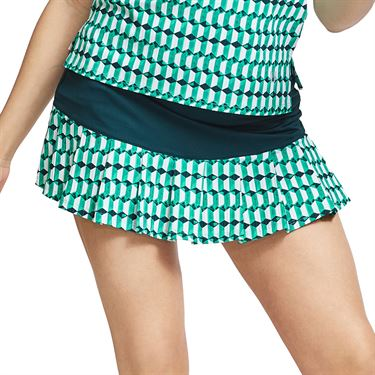 Eleven Retro All That Flutters Skirt Womens Retro in Geos/Opal SK198 933