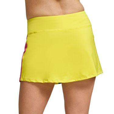 Eleven Legacy Retro Skater Skirt Womens Neon Sun SK246 303