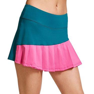 Eleven Legacy Diagonal Flutter Skirt Womens Classic Kelly SK250 345