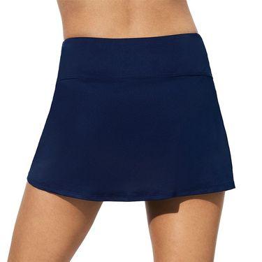 Eleven Essentials Flutter Skirt Womens Admiral Navy SK500 415