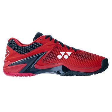 Yonex Eclipsion 2 Clay Mens Tennis Shoe Red/Black STE2CRBKû