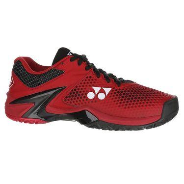 Yonex Power Cushion Eclipsion 2 Mens Tennis Shoe - Red/Black