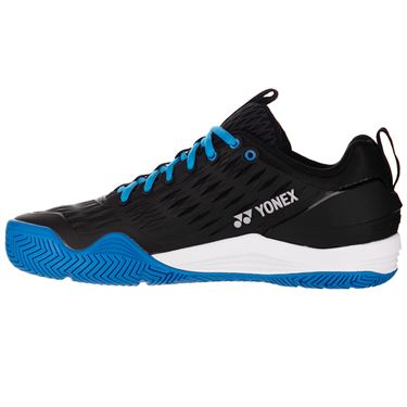 Yonex Eclipsion 3 Mens Tennis Shoe Black/Blue STE3BB