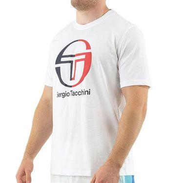 Sergio Tacchini Iberis Tee Mens Brilliant White STF21M39225 050