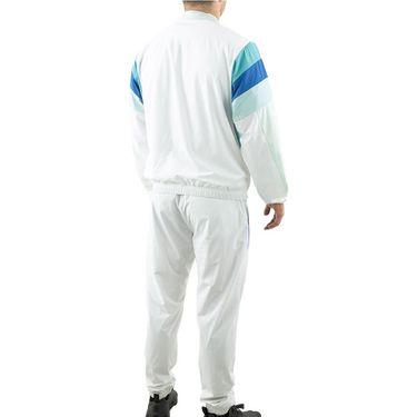 Sergio Tacchini Arezzo Tracksuit Mens White/Blue Multi STF21M60007 052