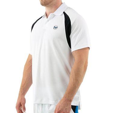 Sergio Tacchini Court Polo Mens Brilliant White STF21M60033 050