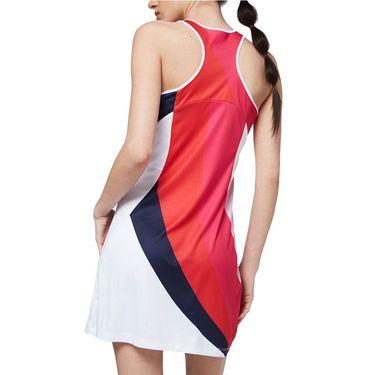 Sergio Tacchini Arezzo Dress Womens White/Pink Multi STF21W60014 053