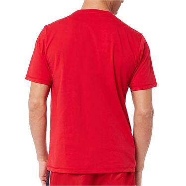 Sergio Tacchini TCP Training Tee Shirt Mens Tango Red STMS2138949 650