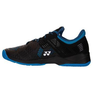 Yonex Sonicage Wide Mens Tennis Shoe 2E Width Black/Blue STS2WBB