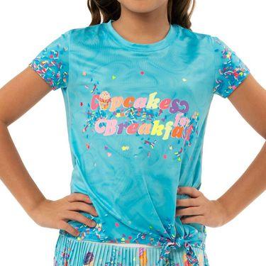 Lucky in Love Novelty Girls Cupcake Tee Shirt Multi T198 D21955