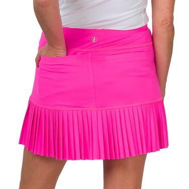 Jofit Rojito Knife Pleat Skirt Womens Fluorescent Pink TB0007 FLP