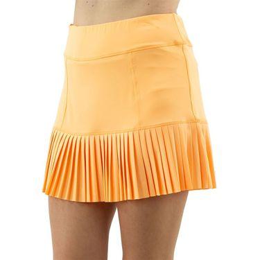 Jofit Ocean Breeze Knife Pleat Skirt Womens Tangerine TB0007 TGR