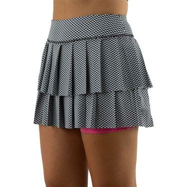 Jofit Candy Layered Pleat Skirt Womens Herringbone TB0011 HBNû