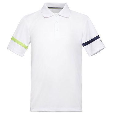 Fila Boys Polo White/Navy TB018395 101