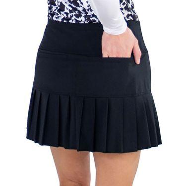 Jofit Core Knife Pleat Skirt Womens Black TB240 BLK