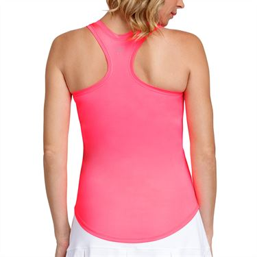 Tail Electric Motion Madison V Neck Racerback Tank Womens Electric Pink TC2647 0381